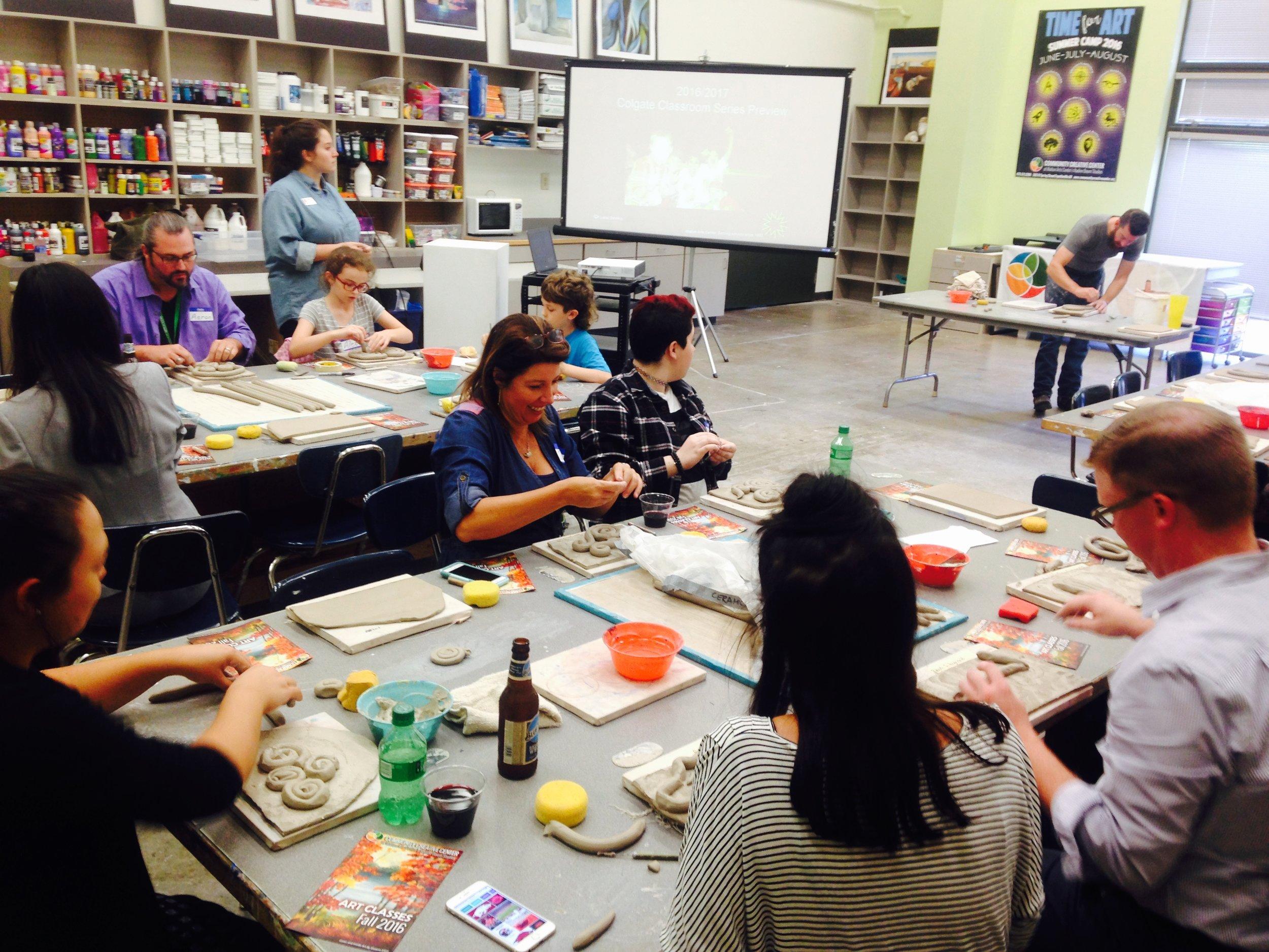 National Arts In Education Week: Walton Art Center SmART Teachers