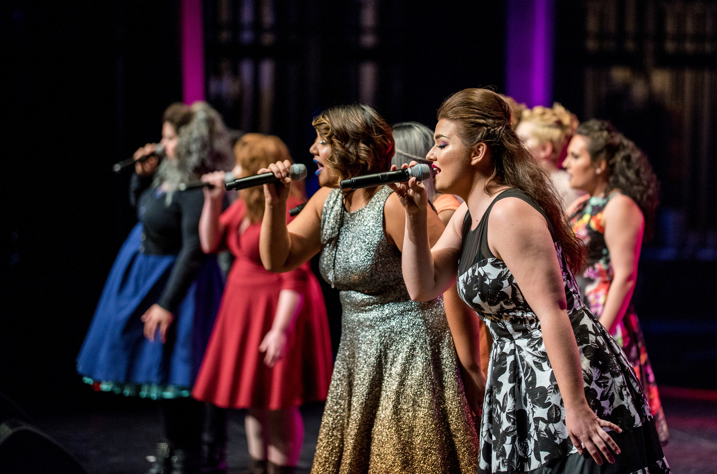Aca-Amazing - … This is not your grandmother's a cappella. This is current music and old music made current by extreme vocal range and control, tight harmonies, sick beats and vocal percussion… Whether you want to compete, learn or listen, VoiceJam has something for everyone.