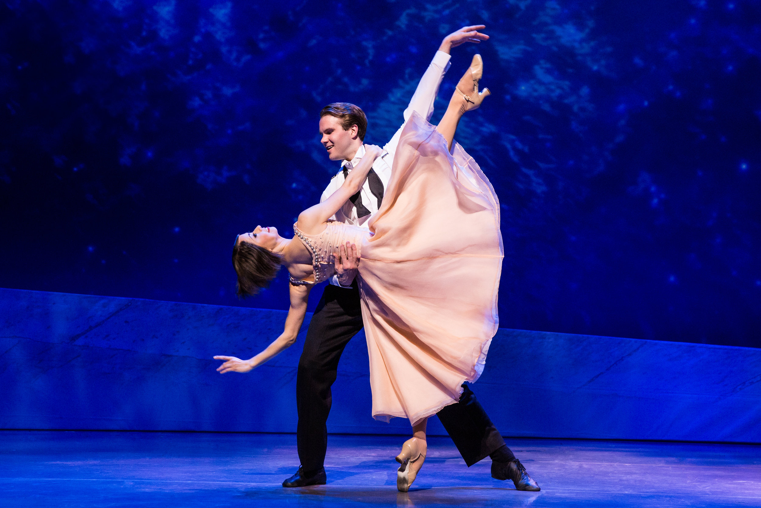 """""""The city of light is ablaze with movement in the rhapsodic new stage adaptation."""