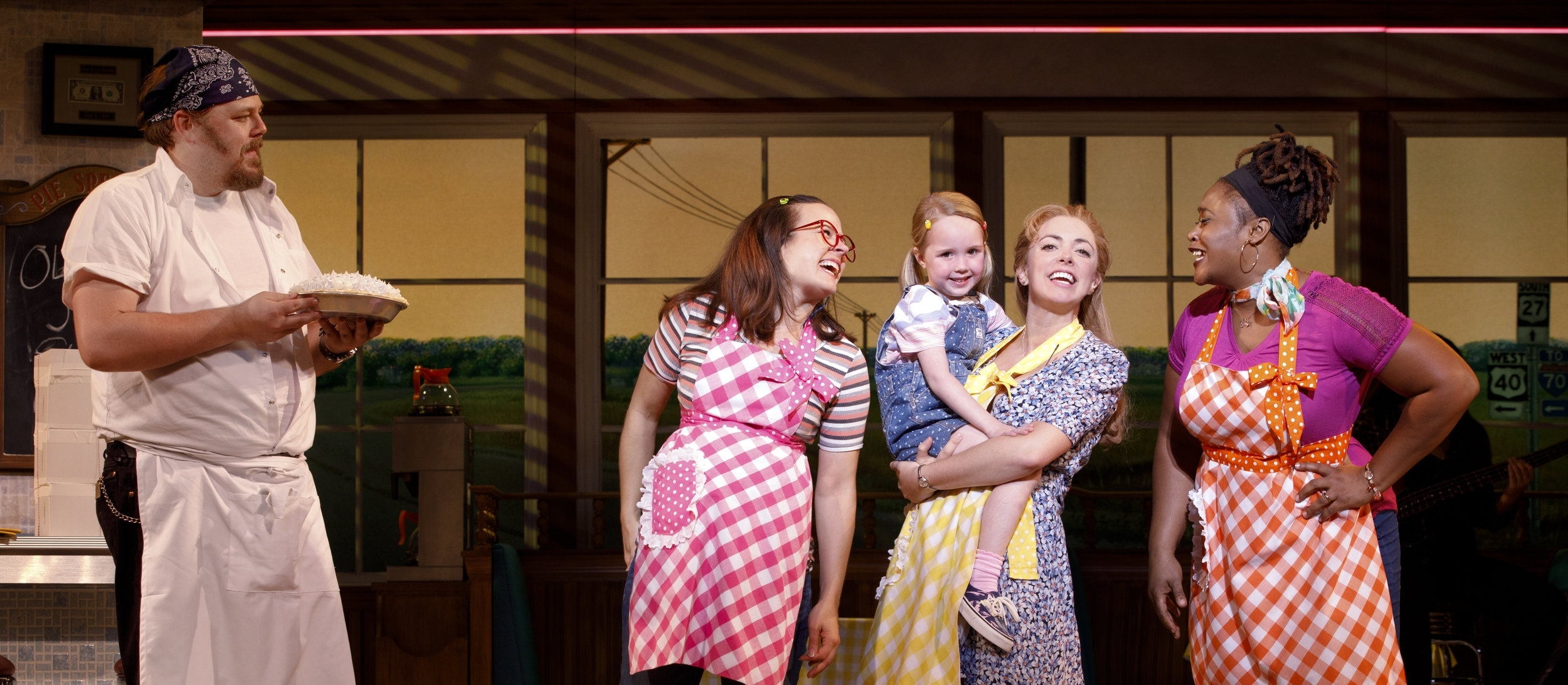 Ryan G. Dunkin and the Cast of the National Tour of WAITRESS  Credit Joan Marcus 0385r.jpg