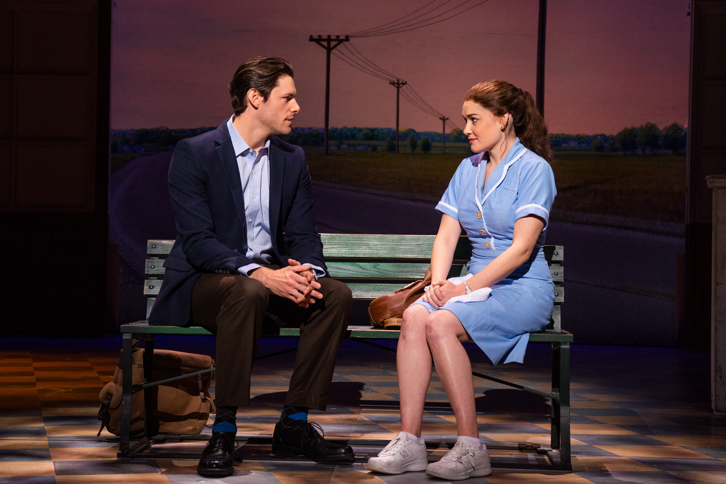 Steven Good and Christine Dwyer in the tour of Waitress Credit Philicia Endelman DSC_1277.jpg