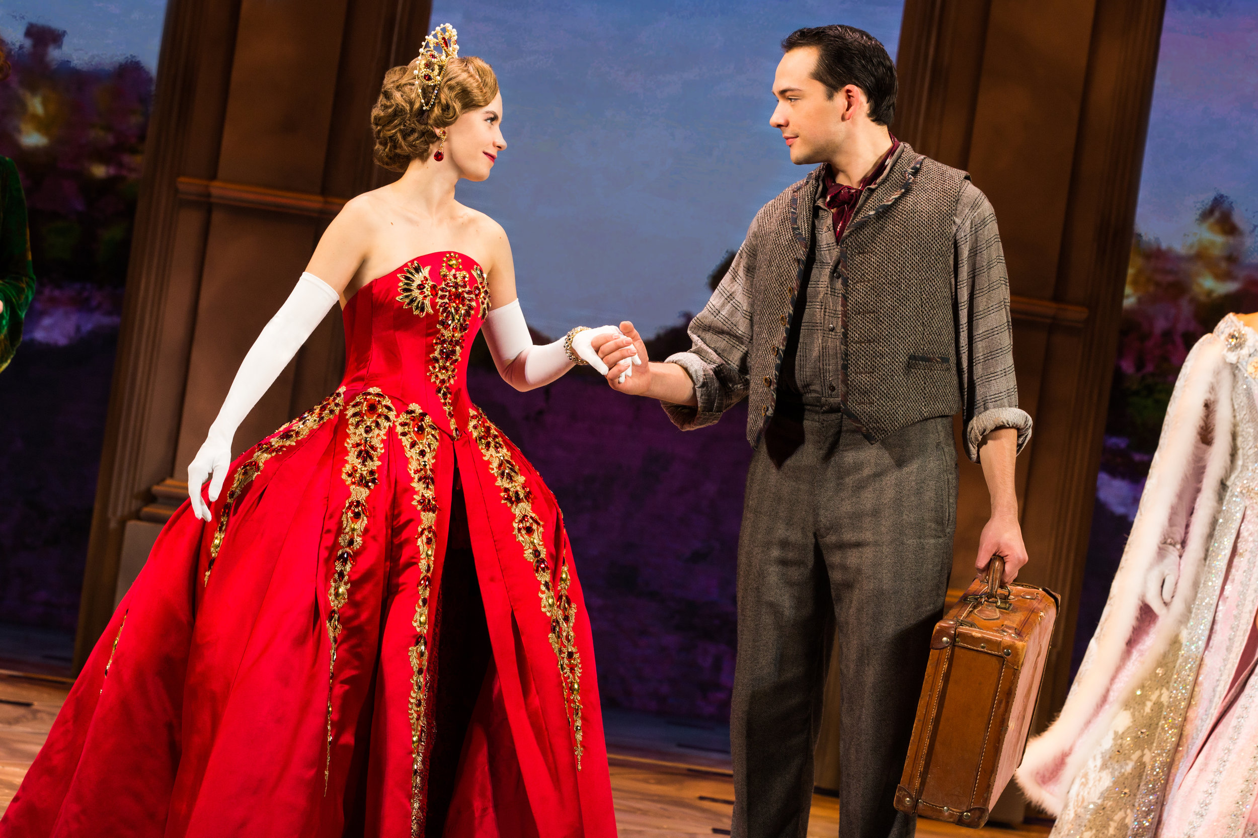 9 - Lila Coogan (Anya) and Stephen Brower (Dmitry) in the National Tour of ANASTASIA. Photo by Evan Zimmerman, MurphyMade..jpg