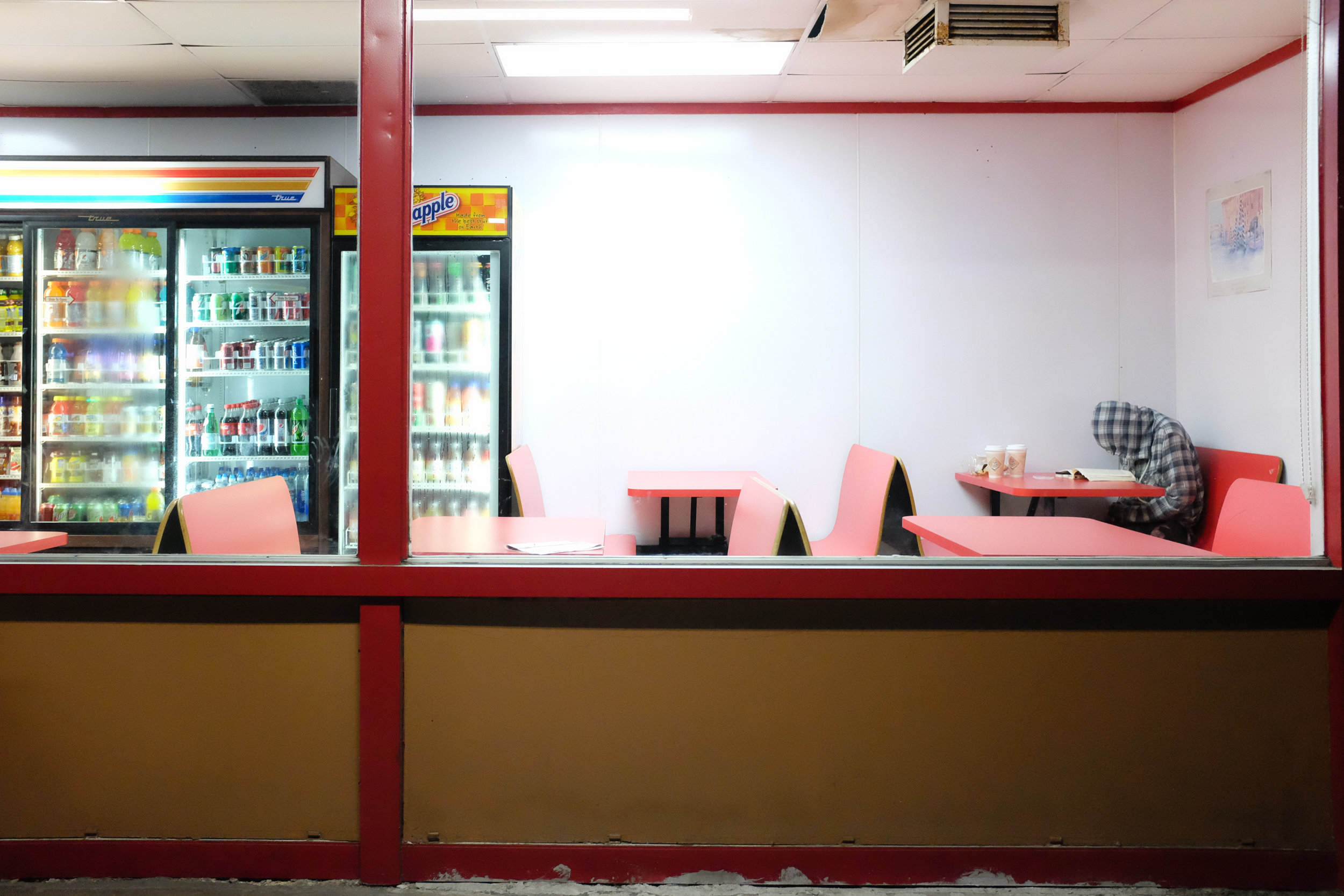 donut shop, digital