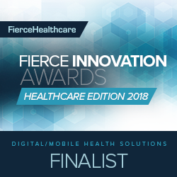 Reflexion Health Named as Finalist in Fierce Innovation Awards Healthcare Edition 2018
