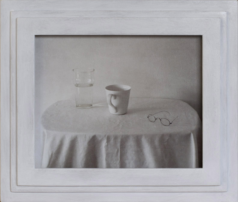 Good Morning Still Life               Pigment print, artist made frame