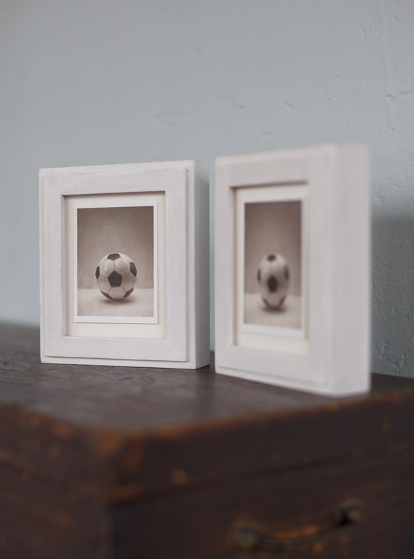 Game     pigment prints in artist made frames