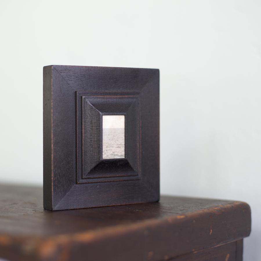 The Little Ocean     silver gelatin print, artist made frame