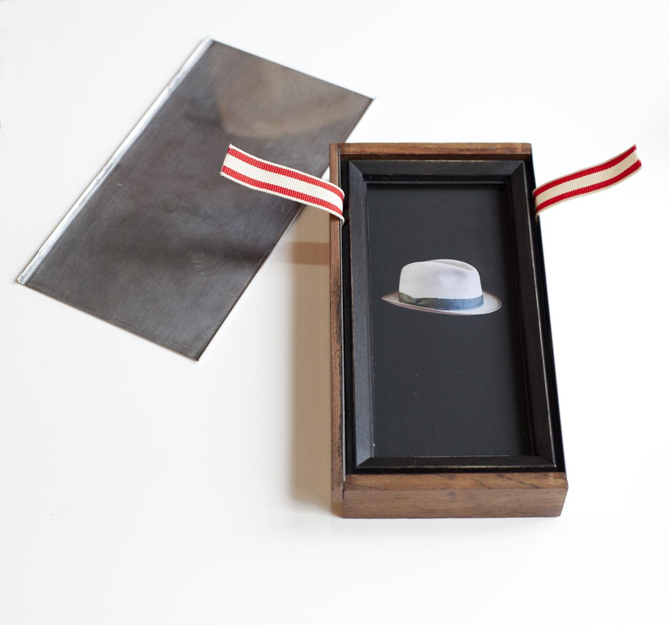 Saboteur     PIgment print, artist made frame & vintage box