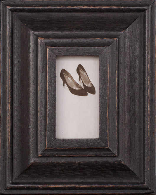 Heels     Pigment print, artist made frame