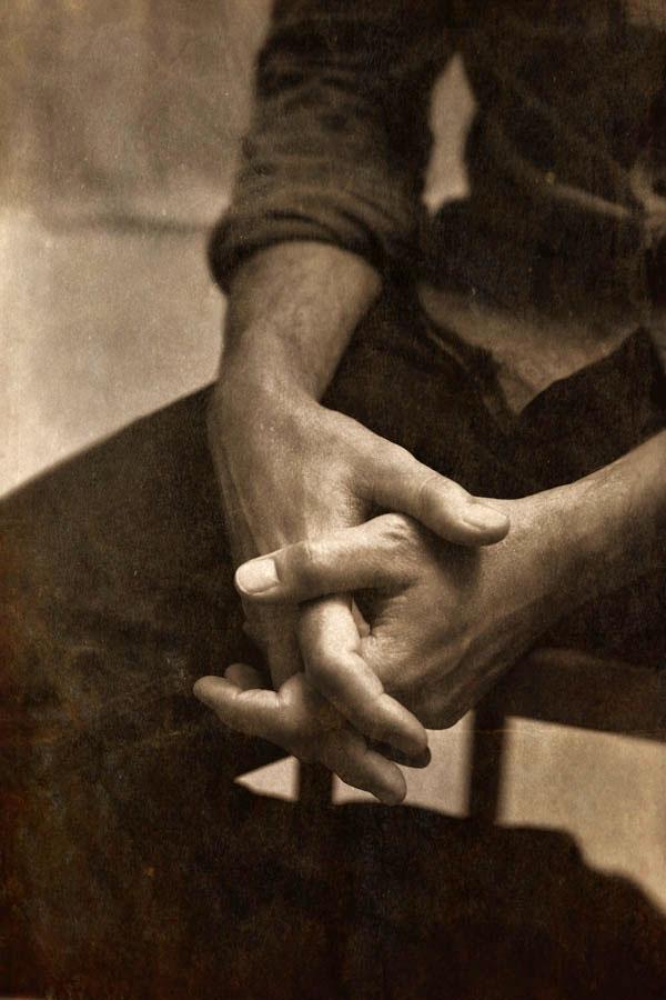 Hands of the Artist Brad Kunkle