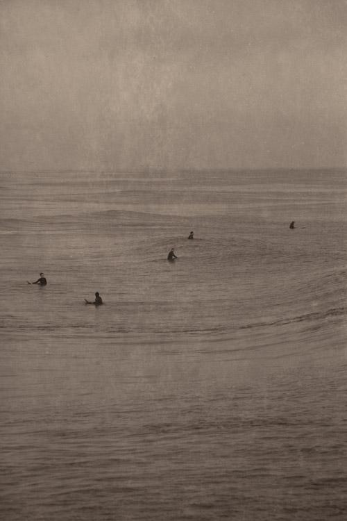 Five Surfers