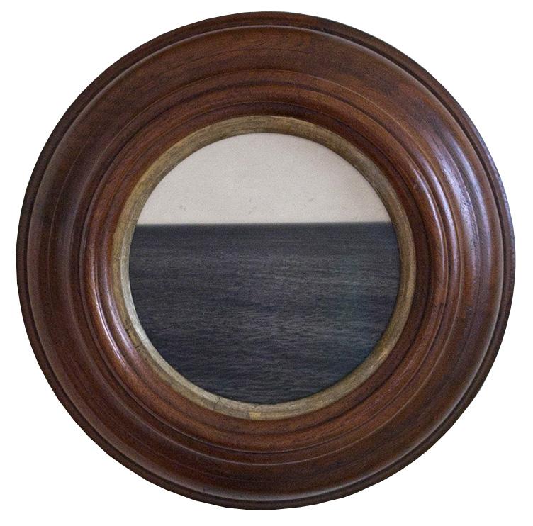 True Places  Silver gelatin print, antique frame