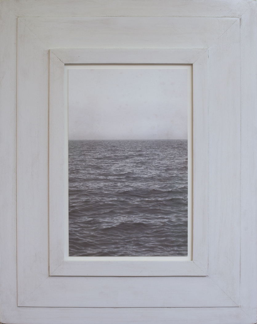 Our Forever Sea  Pigment print, artist made frame