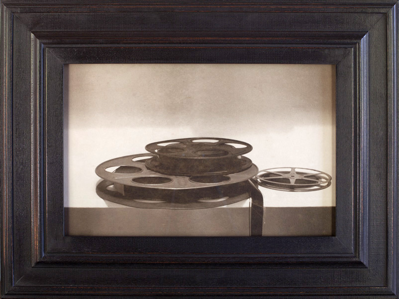 Film Reels       Pigment print, artist made frame