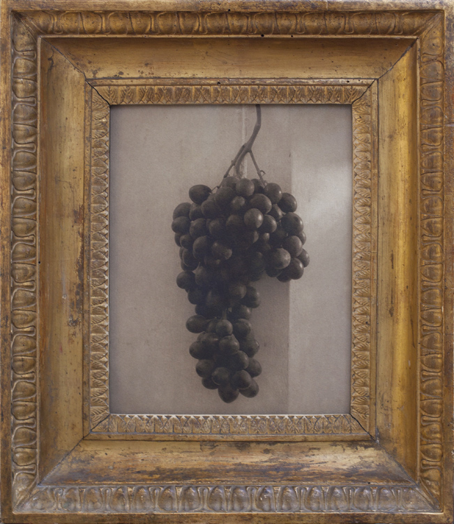 Still LIfe, Florence       Pigment print, antique carved Italian frame