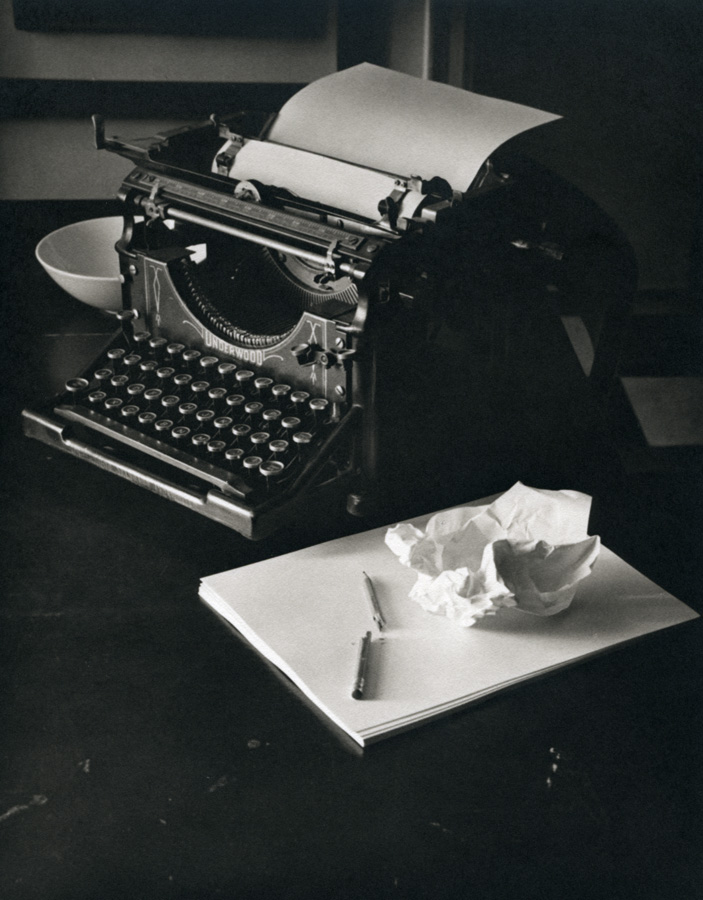 Writing Machine           Platinum print