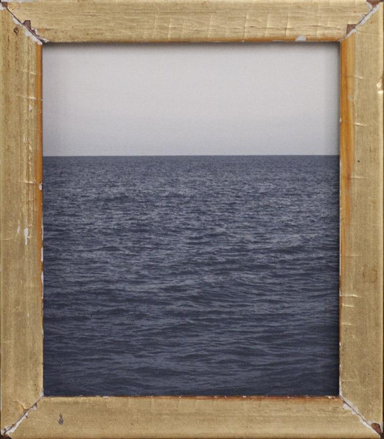 At Anchor Light  pigment print, antique frame