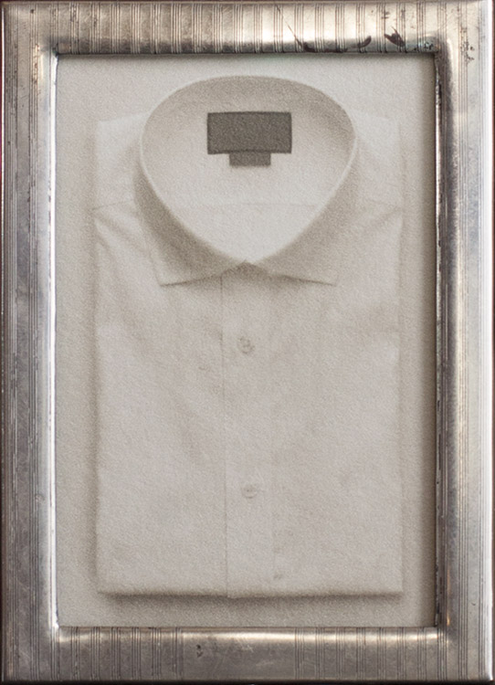 Exceptional      pigment print, sterling silver frame
