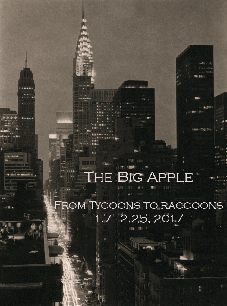 The Big Apple  From Tycoons to Raccoons  Group Show - The Laurence Miller Gallery, NYC