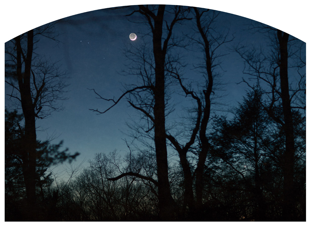 Andre Hill Nocturne ( Three Stars )              Pigment print in various sizes