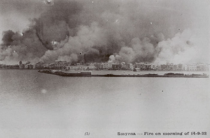 1922 Büyük İzmir Yangını