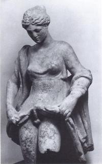 Antik Roma'dan br interseks heykeli