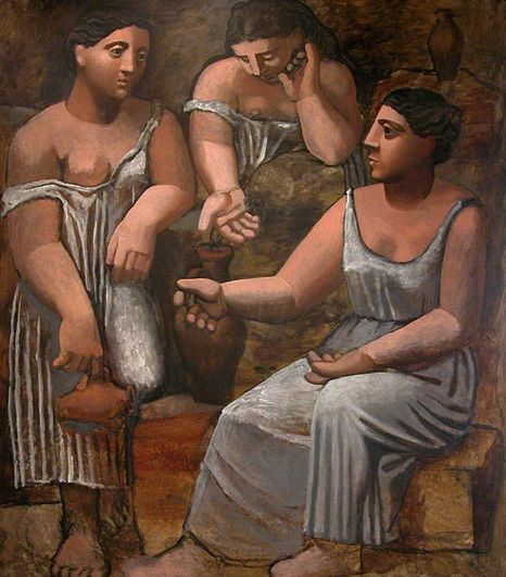 Picasso, Çeşme Başında Kadınlar, 1921