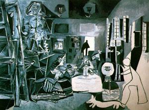 Picasso, Meninas Ailesi, 1957
