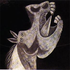 Picasso, At Başı, 1937