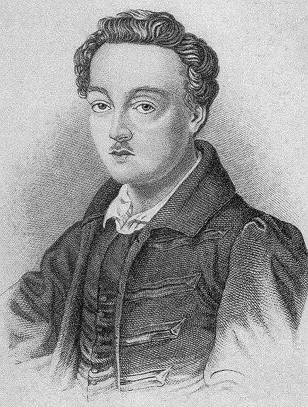 Georg Büchner  (1813- 1837) 23 yaşında tifodan hayatını kaybeden Büchner'in modern tiyatronun gelişimine derin bir etkisi olmuştur. 20. yüzyıl Alman tiyatrosunun temellerini atmıştır. Alman  romantizminin aksine yapıtlarında, insanları toplumsal, tarihsel ve psikolojik boyutları ile ele almıştır.