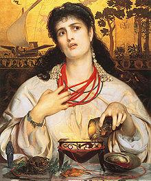 Medea - Anthony Frederick Augustus Sandys   (1866-68)