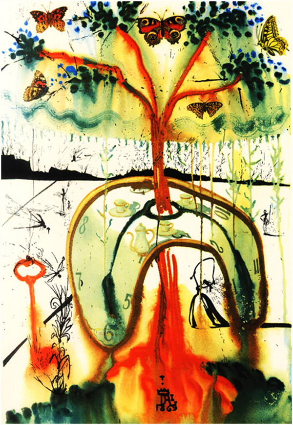 Lewis Carroll - Alice Harikalar Diyarinda - Salvador Dali.jpeg