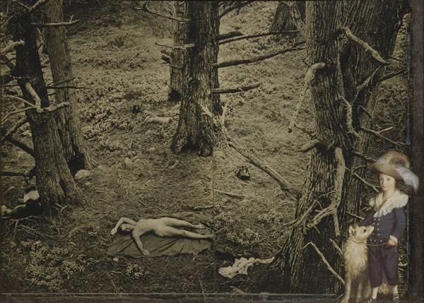 Joseph Cornell - Genç Werher'in Acıları (1966). Bügün Hishhorn Müzesi,Smithsonian Enstitüsü'ndedir.