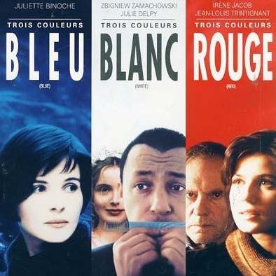 Üç Renk Mavi/Beyaz/Kırmızı - Trois Couleurs Bleu/Blanc/Rouge