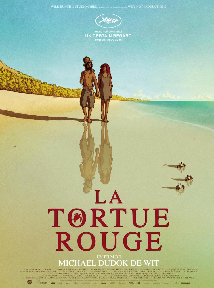 10 – Kırmızı Kaplumbağa - La Tortue Rouge - The Red Turtle (2016) -