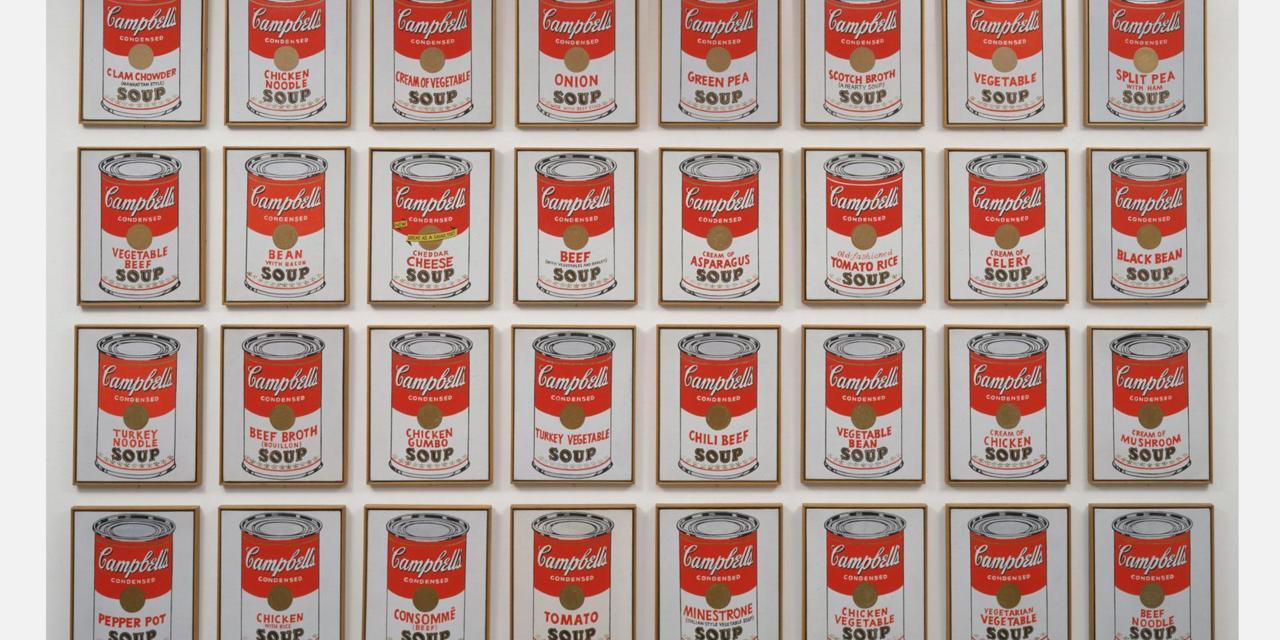 Andy Warhol - Campbell Çorba Konserveleri