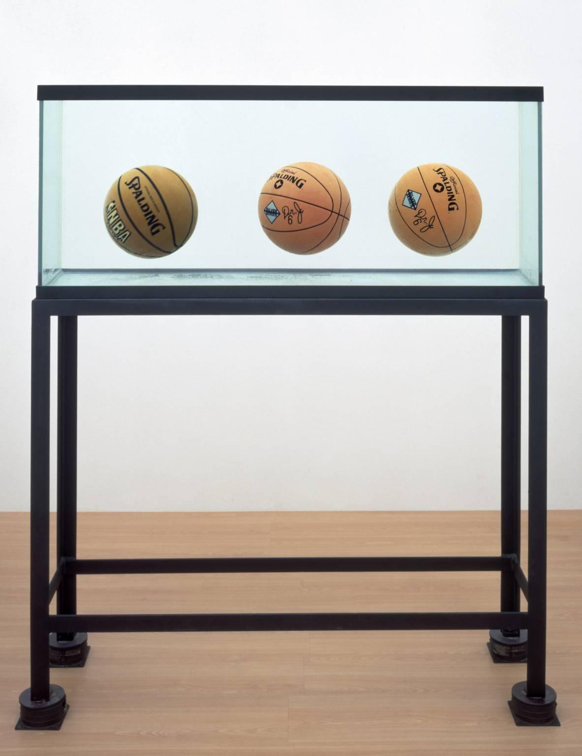 Jeff Koons - Üç Top Tam Denge Tankı 1985 (Tate Müzesi)