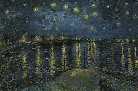 Ren Üzerinde Yıldızlı Gece 1888
