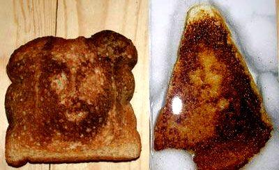 Kızarmış ekmek üzerinde beliren Meryem Ana - 28.000 dolara satıldı.