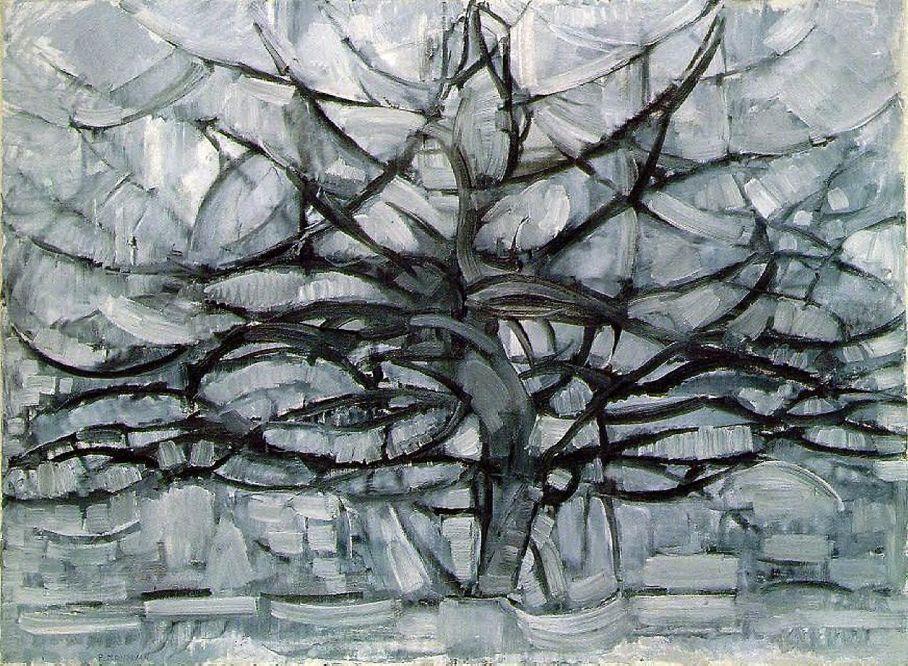 Piet Mondrian - Gri Ağaç (1911)