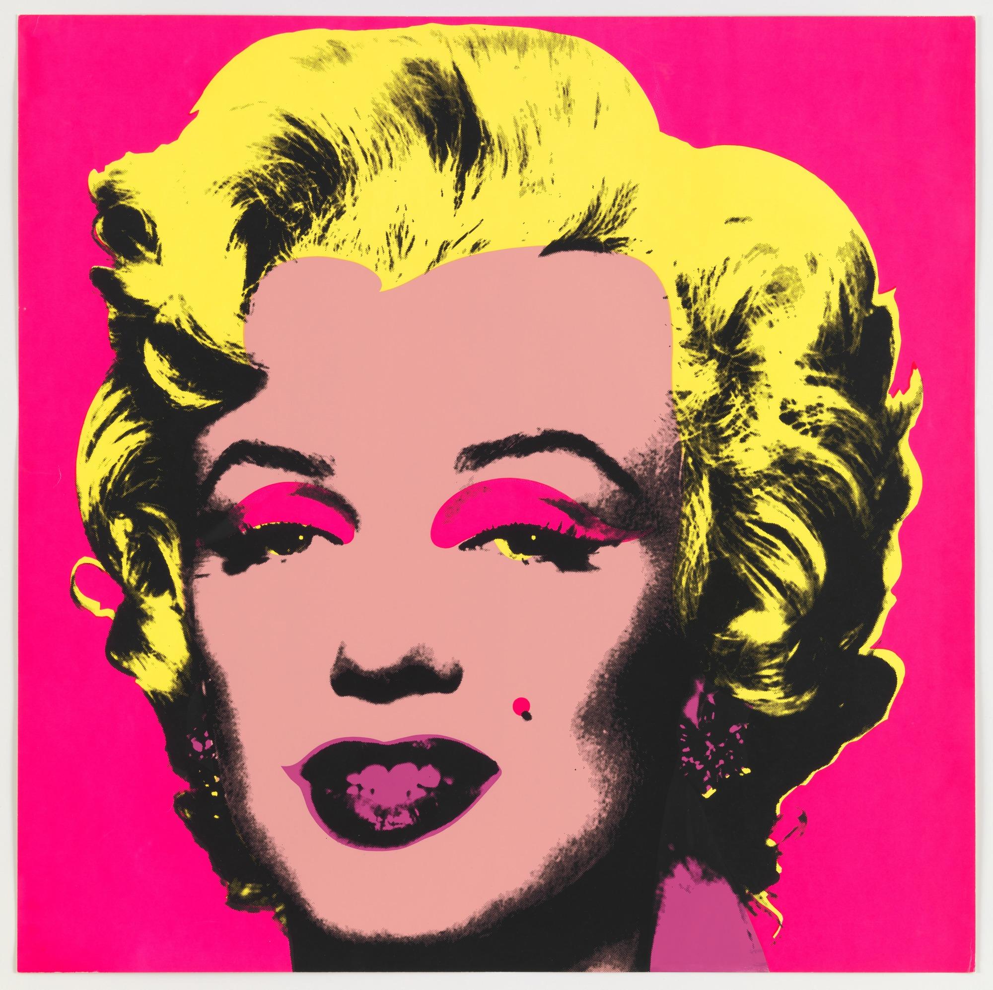 Andy Warhol - İsimsiz Marilyn Monroe (1967)