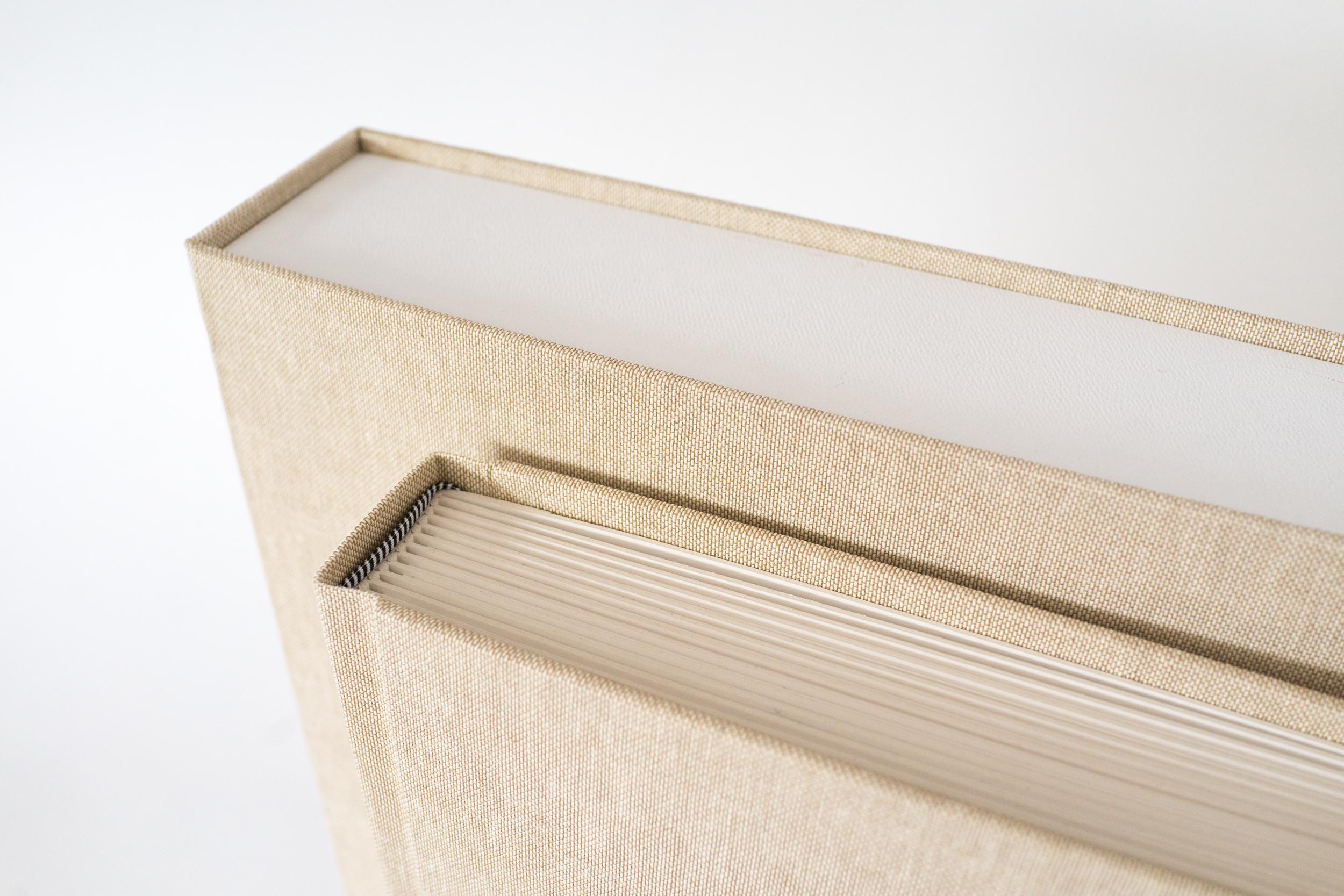 Linen Matted & Flushmount