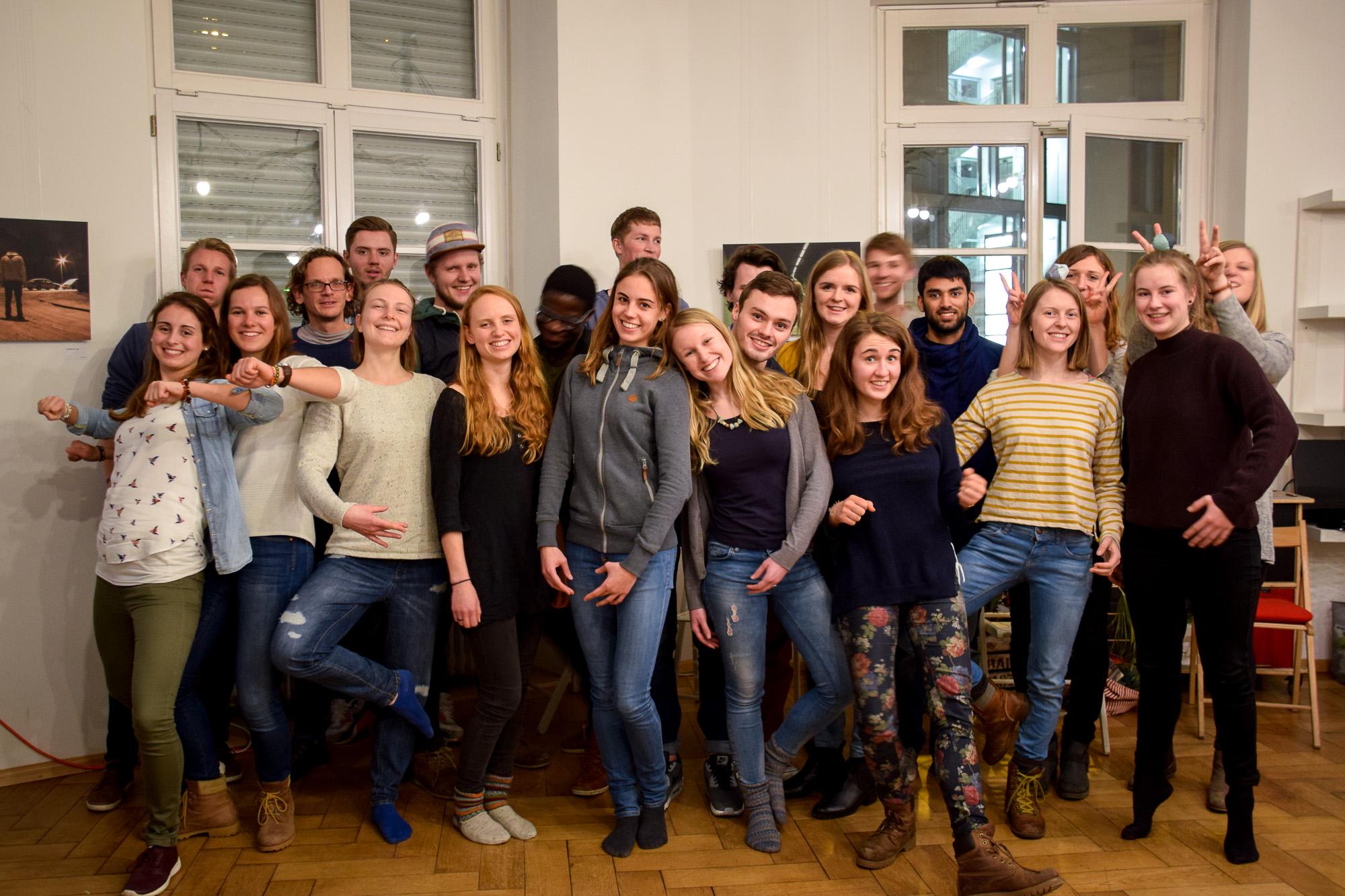 Die Teilnehmer der UnConference.