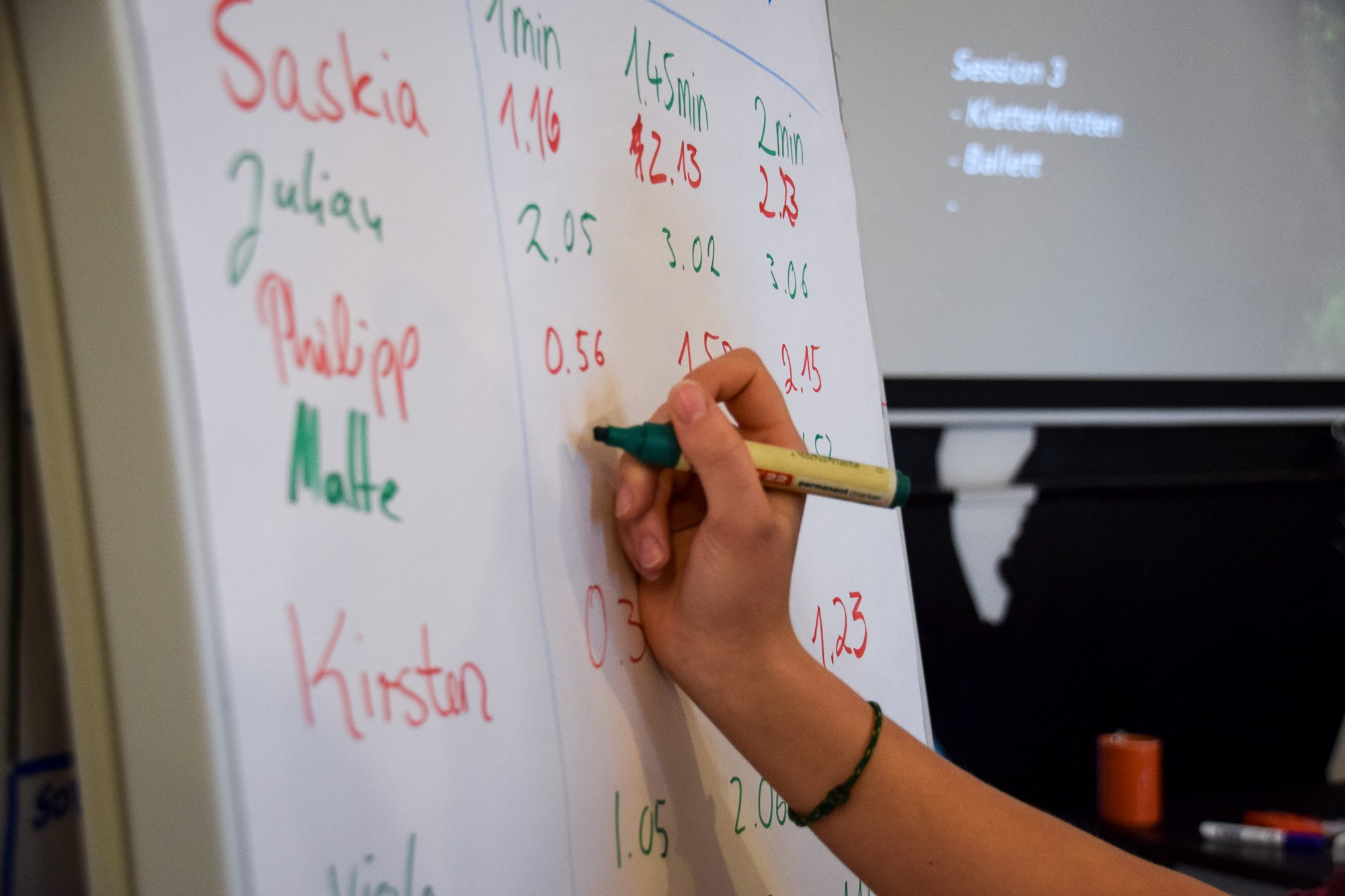 Workshop zum Luftanhalten fürs Freediving.