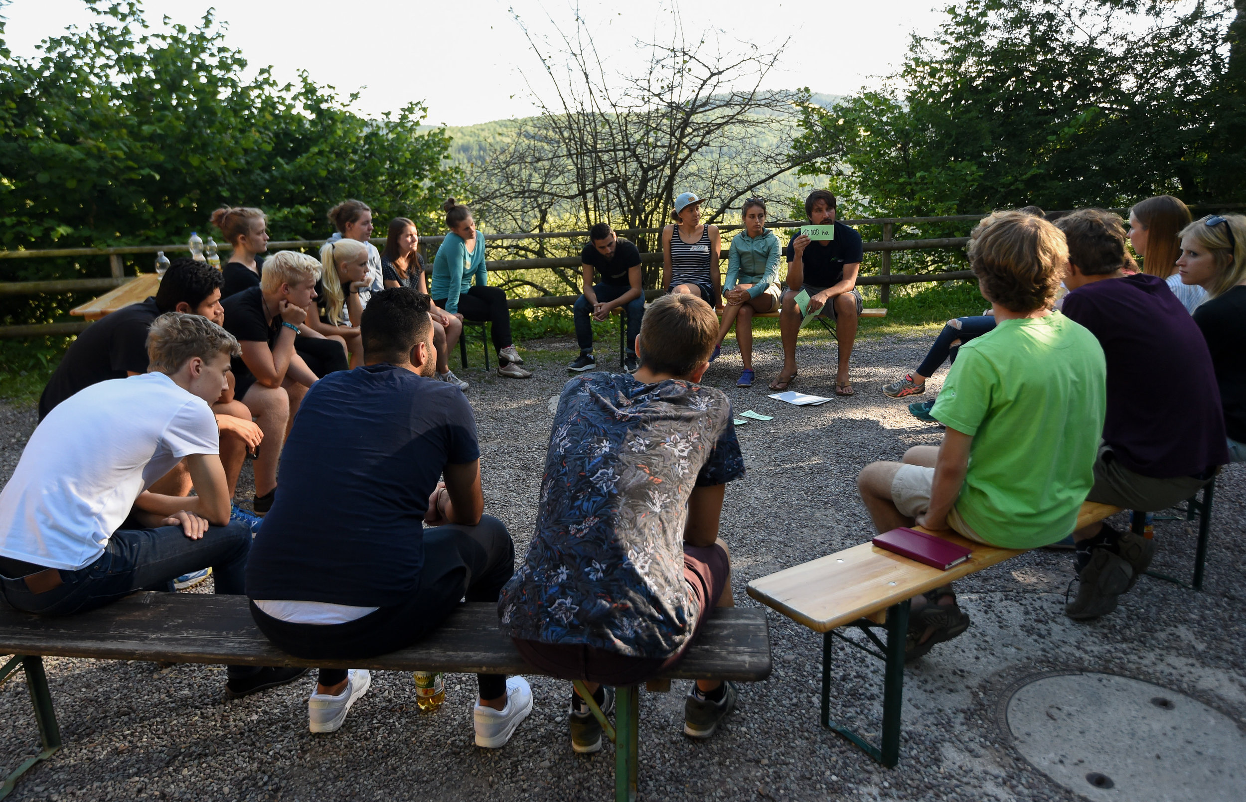 Nationalpark-Wissen mit Wildnispädagoge Sebastian.