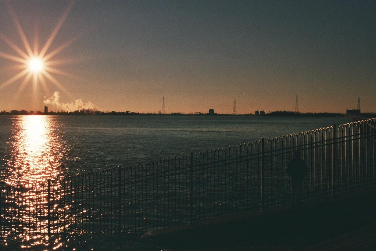 he Spillway in Norco, Louisiana. 35mm