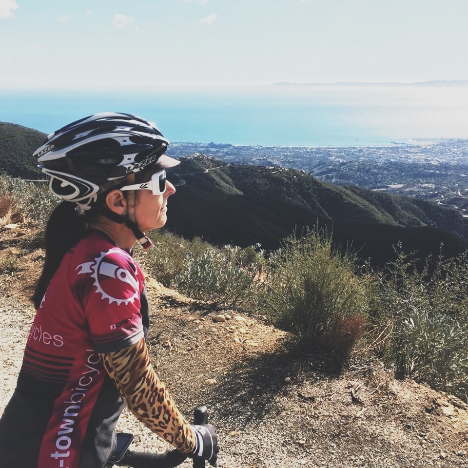 Kim is in sales and is an avid cycle rider. She just completed one of her longest rides which was a goal of hers.