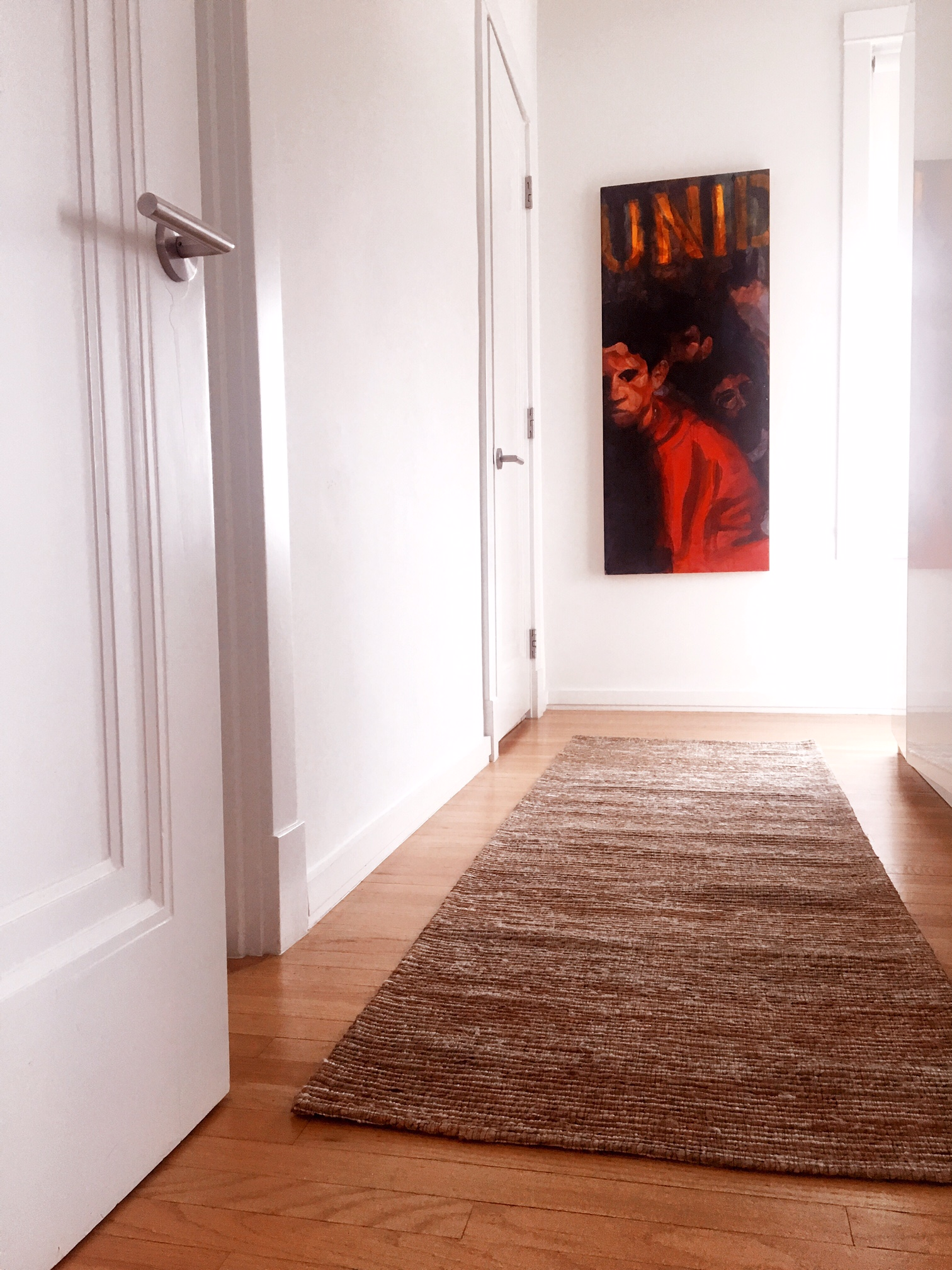 We love this runner so much that we are deciding which color to do for the master bedroom hallway leading to the restroom.