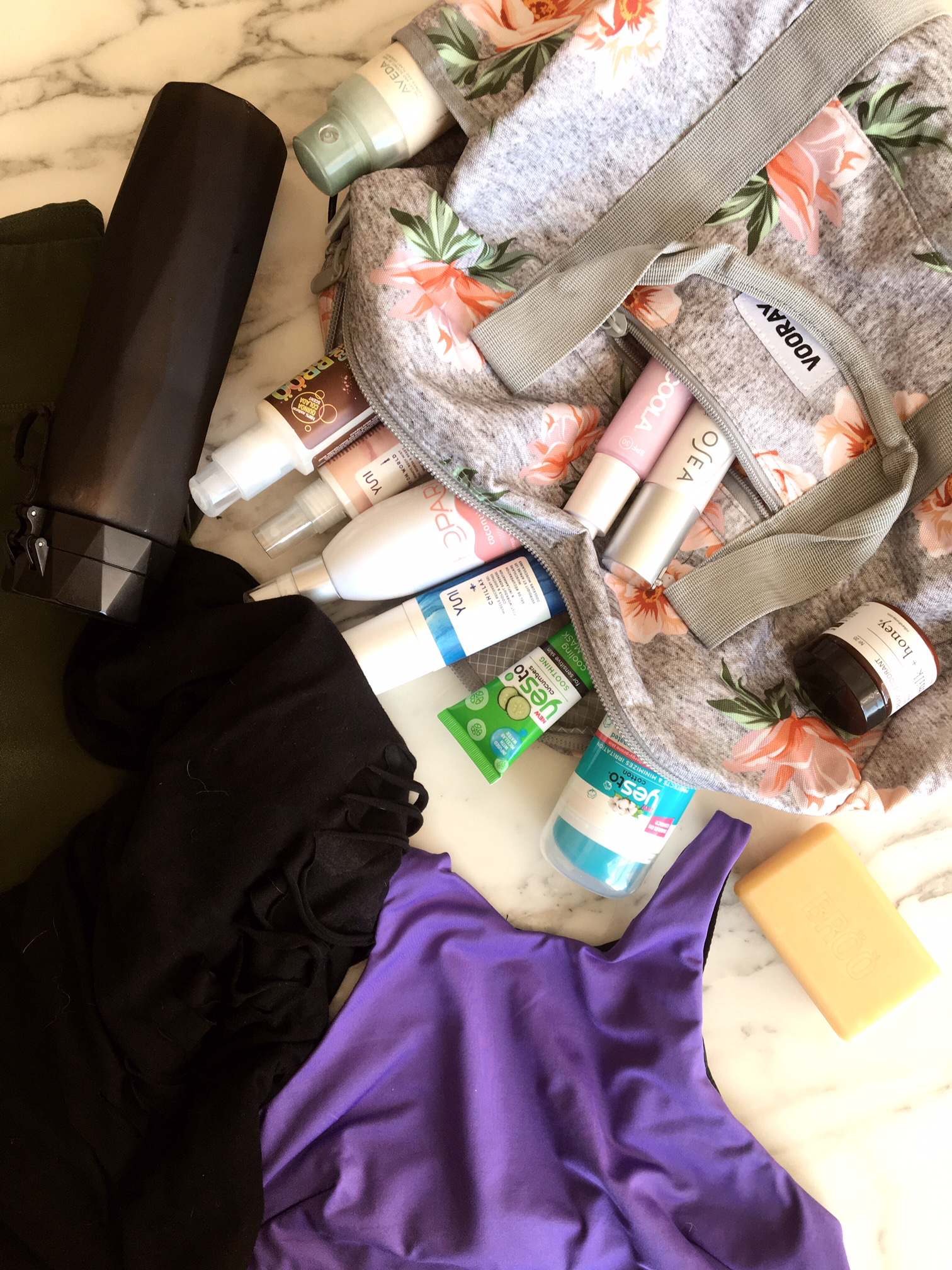 Perfectly Packed Gym Bag
