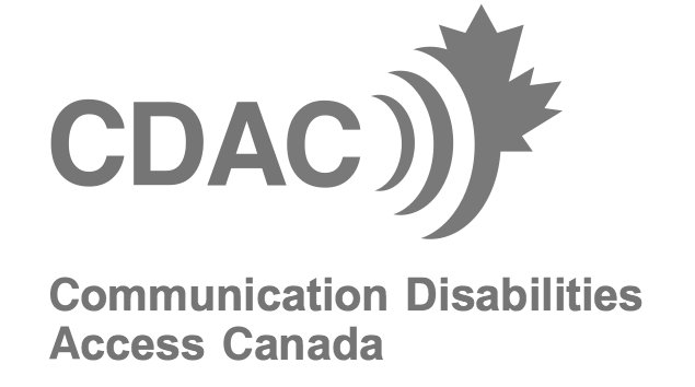 Communication Disabilities Access Canada / Accès Troubles de la Communication Canada